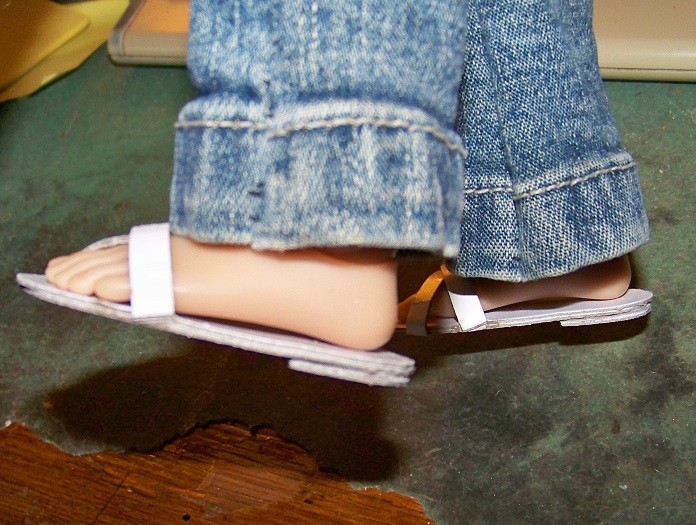 Chaussures en carton 100_8917