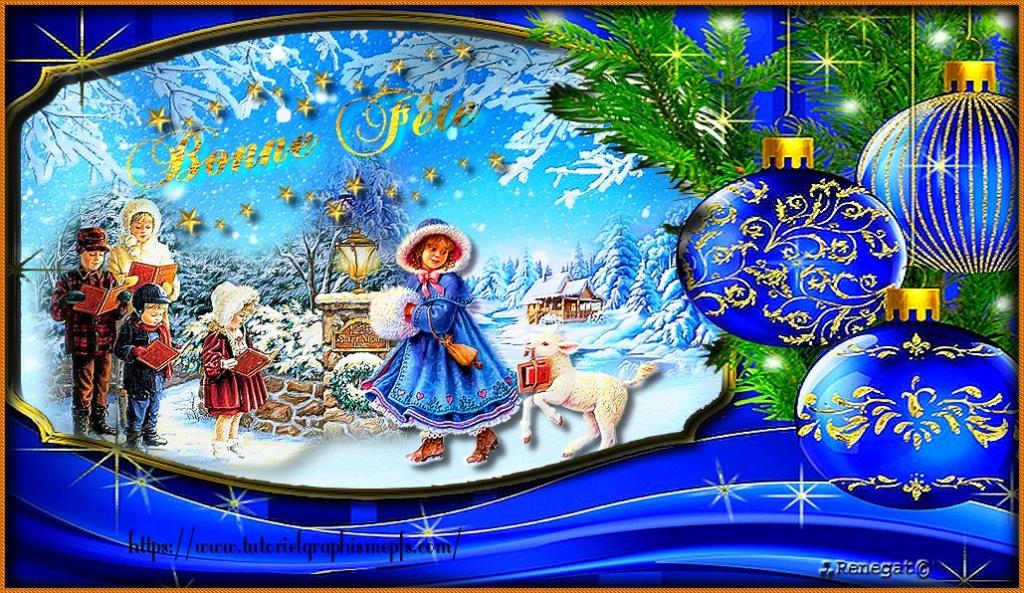 """Logo """"Fête """"Noël 2020 ►Servez vous Logo_210"""