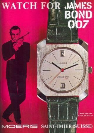 James Bond, les montres Moeris10