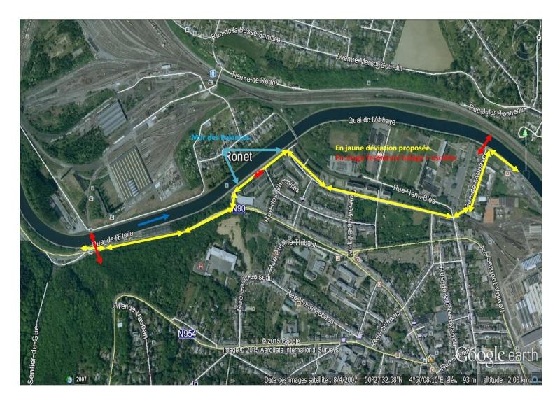 RAVeL 1 Centre (Part 5b) Tamines - Namur - Eurovelo 3 - Itinéraire n°6 - Page 4 Ravels10