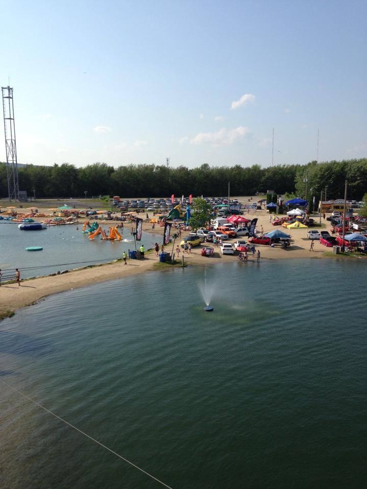 La plage et le Beach Club de Pointe-Calumet Bc510