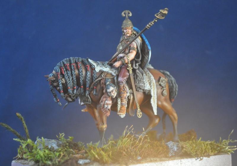 Cavalier celte- Pegaso- Terminé enfin Dsc_0011