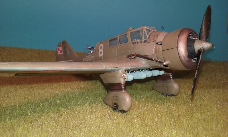 "PZL 23 ""Karas"" - campagne de 1939- Mirage Hobby 1/48  - POLOGNE 20150916"