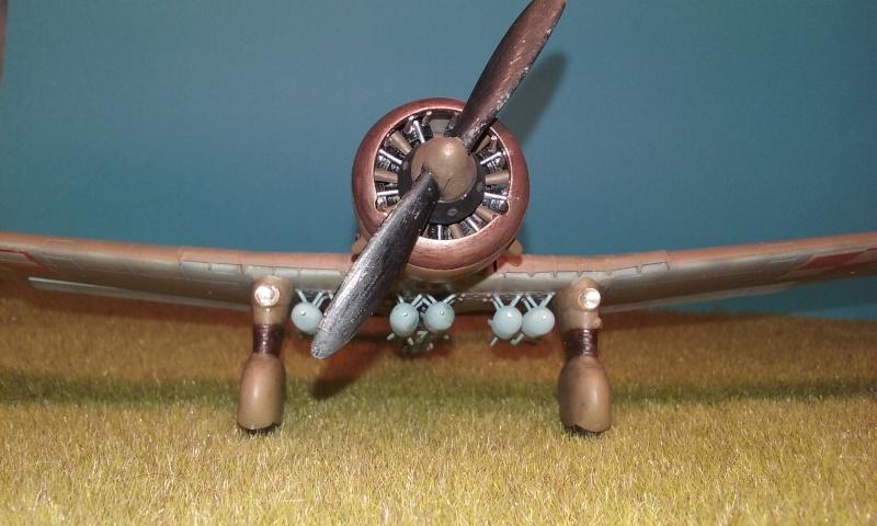 "PZL 23 ""Karas"" - campagne de 1939- Mirage Hobby 1/48  - POLOGNE 20150917"