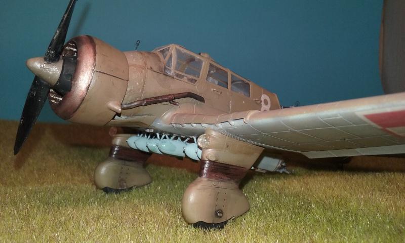 "PZL 23 ""Karas"" - campagne de 1939- Mirage Hobby 1/48  - POLOGNE 20150918"
