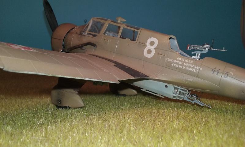 "PZL 23 ""Karas"" - campagne de 1939- Mirage Hobby 1/48  - POLOGNE 20150919"