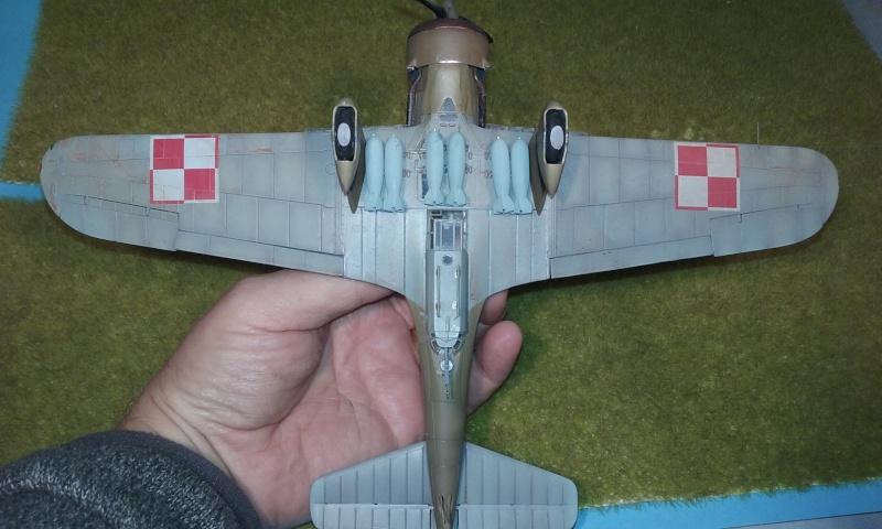 "PZL 23 ""Karas"" - campagne de 1939- Mirage Hobby 1/48  - POLOGNE 20150920"