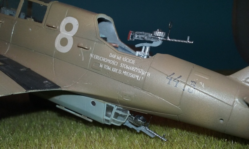 "PZL 23 ""Karas"" - campagne de 1939- Mirage Hobby 1/48  - POLOGNE 20150921"