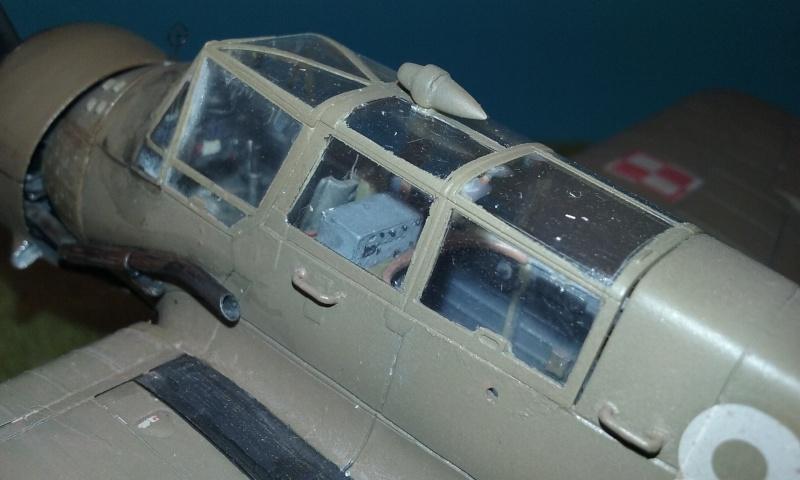 "PZL 23 ""Karas"" - campagne de 1939- Mirage Hobby 1/48  - POLOGNE 20150922"