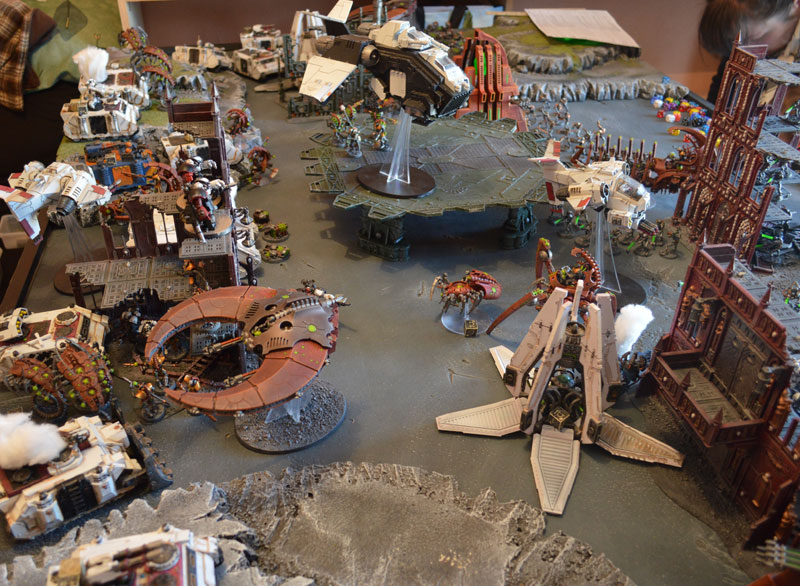 2015.10.01 - Necrons contre Spaces Marines - 4000 pts 0815