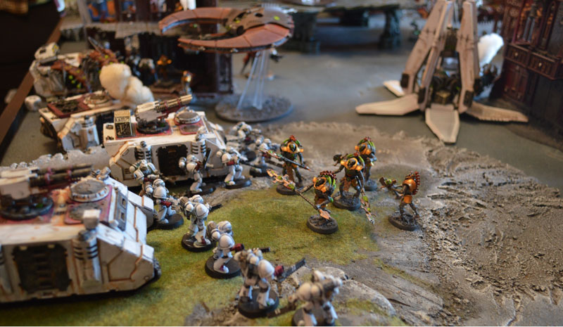 2015.10.01 - Necrons contre Spaces Marines - 4000 pts 0915