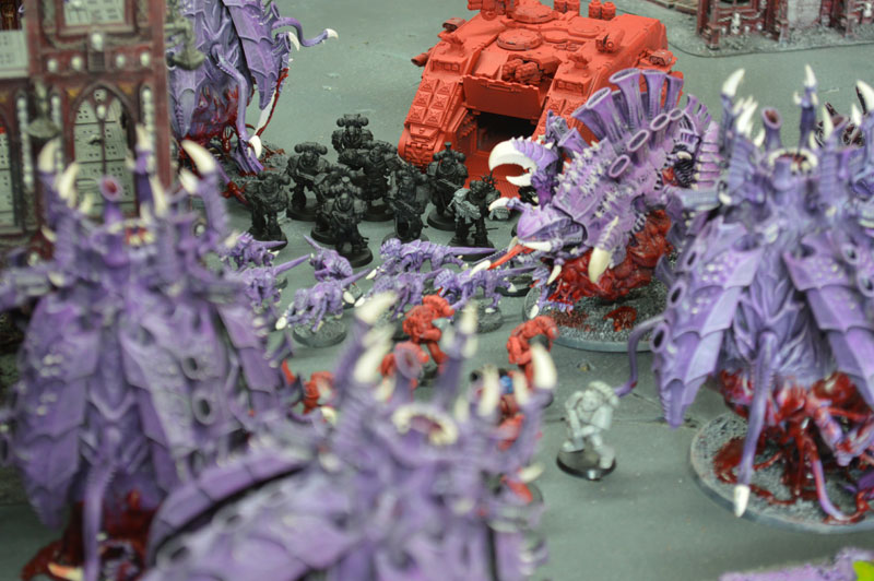 2015.08.29 - Tyranides contre Blood Angels - 2000 pts 1110