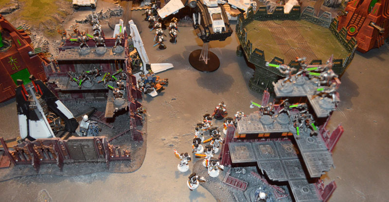 2015.10.01 - Necrons contre Spaces Marines - 4000 pts 1810