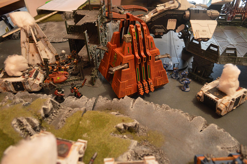 2015.10.01 - Necrons contre Spaces Marines - 4000 pts 2010
