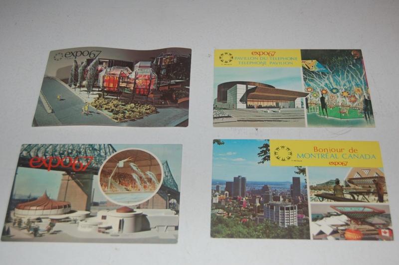VENDU - carte postale expos 1967 Montréal  Dsc_0315