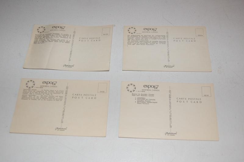 VENDU - carte postale expos 1967 Montréal  Dsc_0316