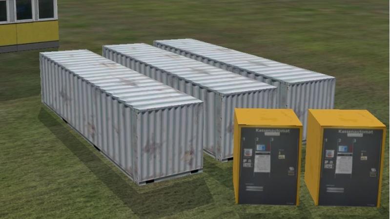 Neue Objecte. Übersee Container und Parkschein Automat Neue_o12