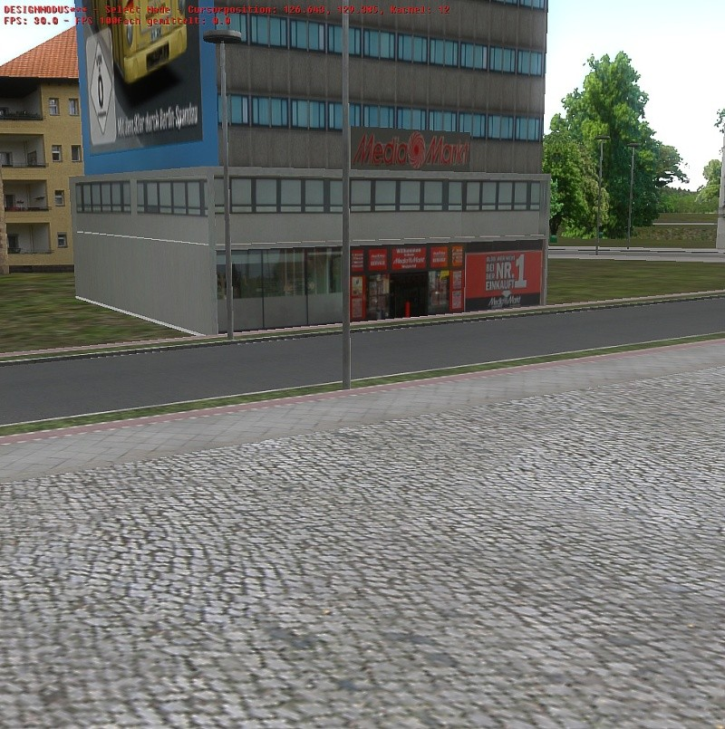Neues Sammel Thread Beckschollobjects Update 13.06. Media Markt mit Parkplatz und Mauer Omsi_282