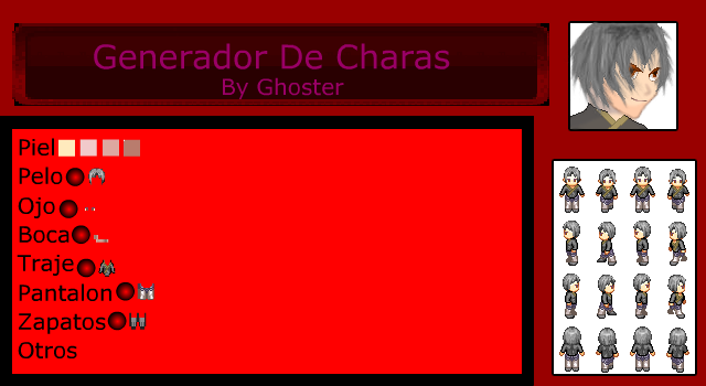 Chara Generator By Ghoster Vvvvxx10