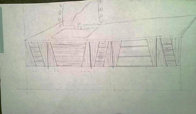 projet meuble salle de bain en poirier ,debut ... Sans_t10