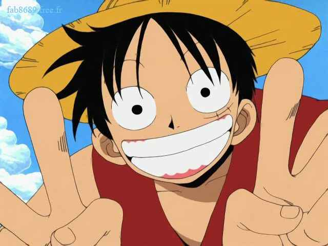 One Piece [Personnages] Luffy12