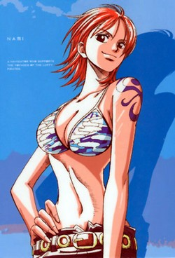 One Piece [Personnages] Nami10