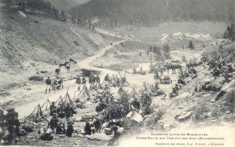 Nouvelles photos de nos Alpins. Biv710