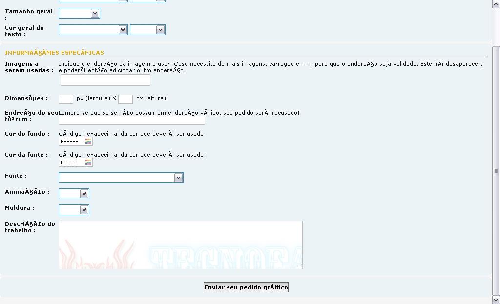 Personalizar formulário Formul12