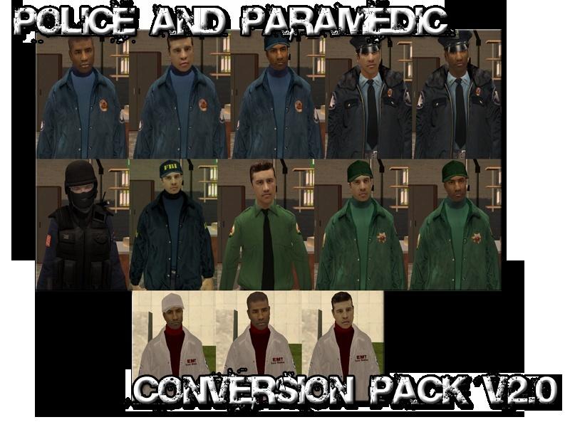 Skin SWAT - Police - Ambulancier Pictur10