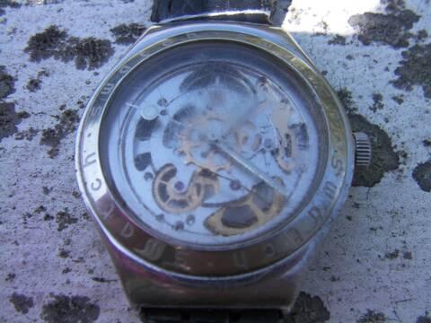 Réparation Swatch Irony Automatic