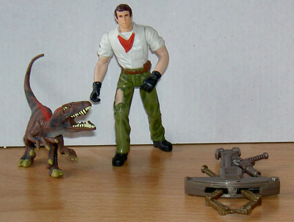 jurassic paark 3 toys Loose18