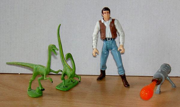 jurassic paark 3 toys Loose19