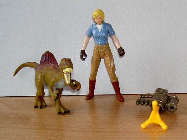 jurassic paark 3 toys Loose23