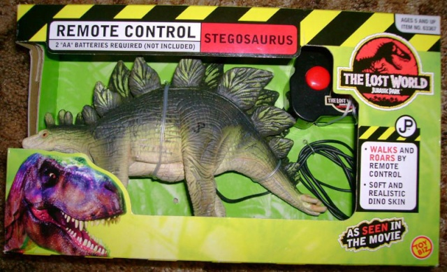 the lost world series 1 dinosaur list Stego110