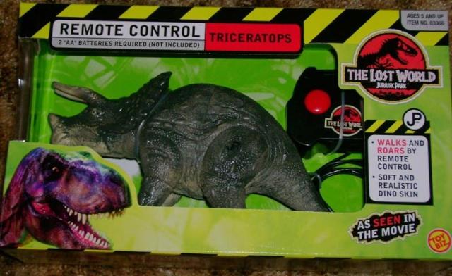 the lost world series 1 dinosaur list Trike110