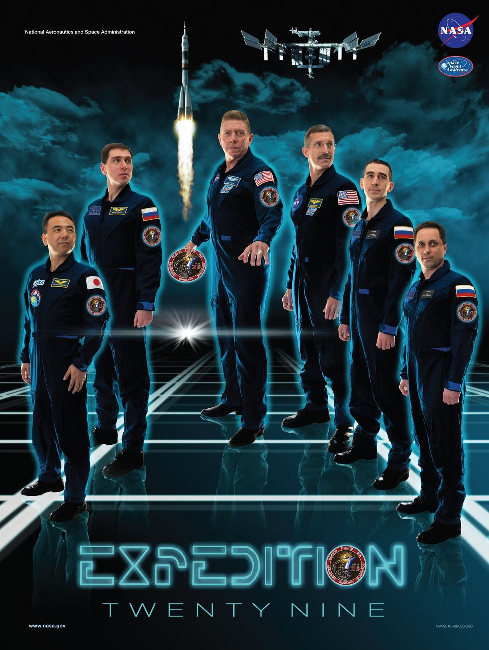 [ISS] Expedition 29: Déroulement de la mission. Ex29-p10
