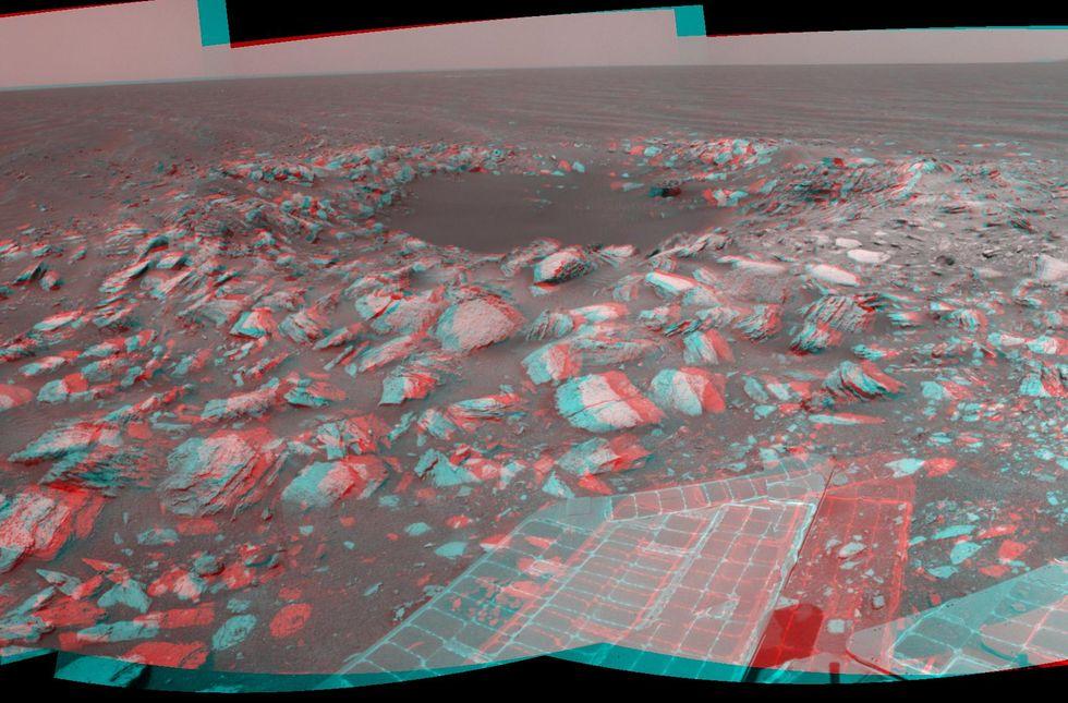 Opportunity va explorer le cratère Endeavour - Page 12 Pia14110