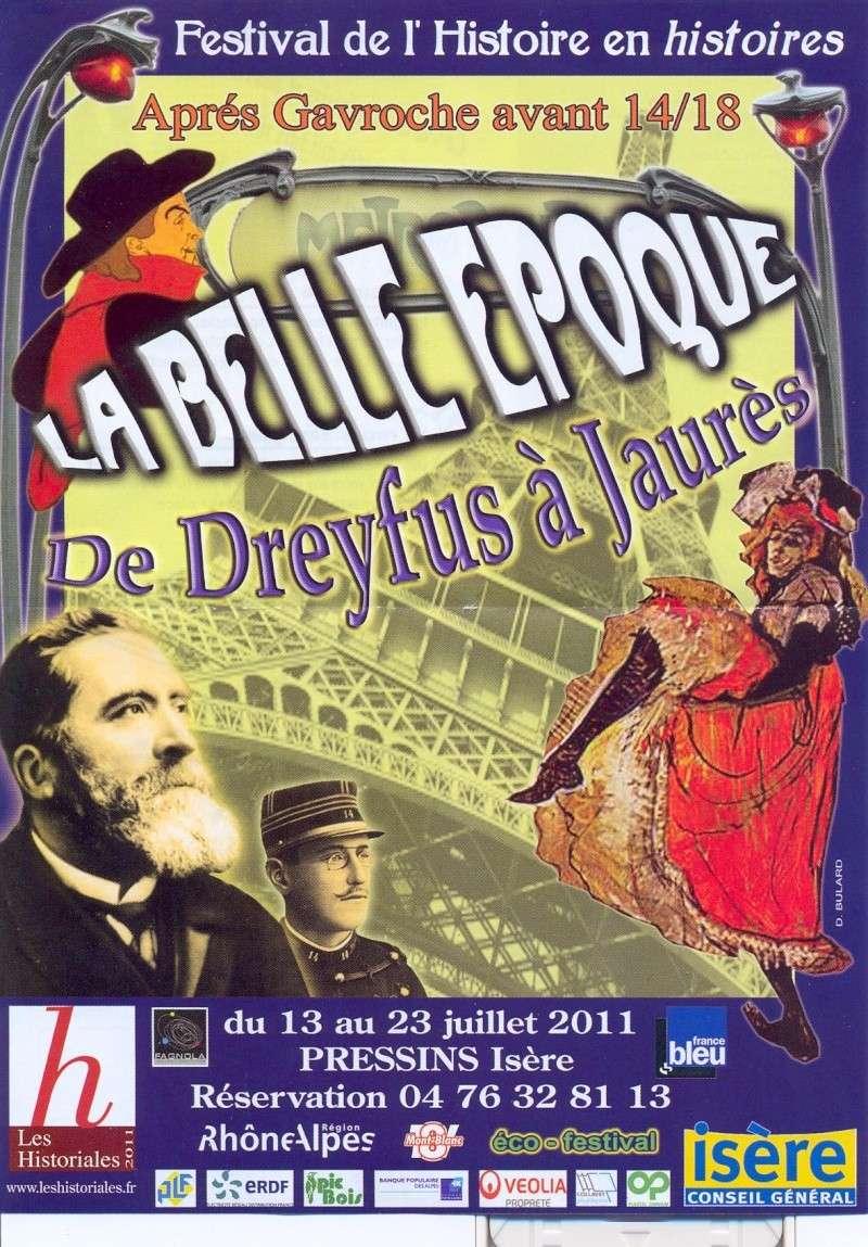 Festival de l'Histoire en histoires, La Belle Epoque, du 13 au 23 juillet à Pressins  Dreyfu10