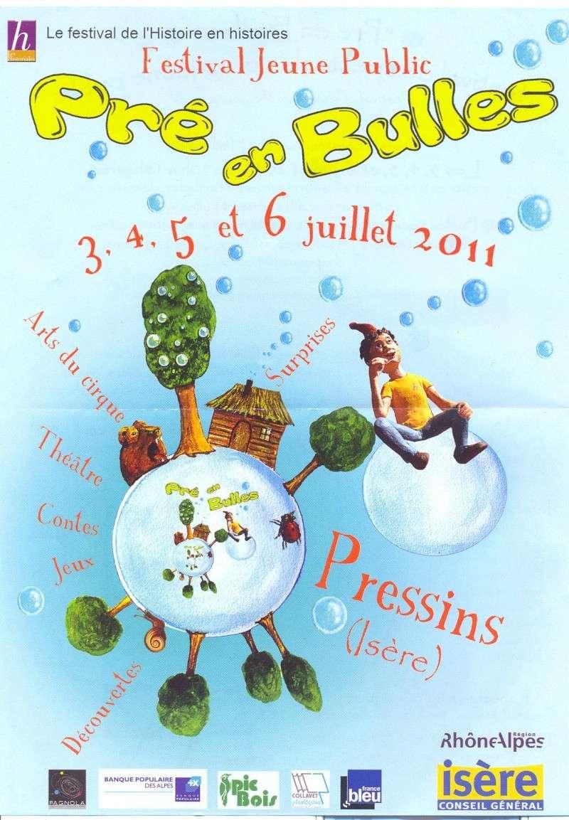 Festival Jeune Public, Pré en bulles, 3-4-5-6 juillet à Pressins Pra_au10
