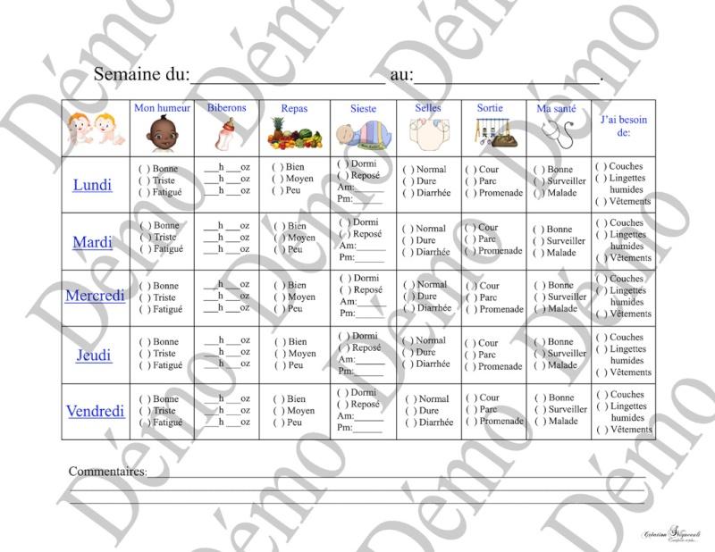 feuille de communication gratuite Feuill10