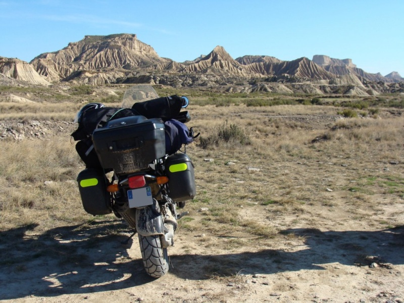 Mon BB . MW 1150 GS en vacances Off ROAD en Espagne  Dsc07010
