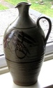 Stoneware pot LeD - Le Dieu Pottery, Norwich (see Richard Wilson)  Jug2311