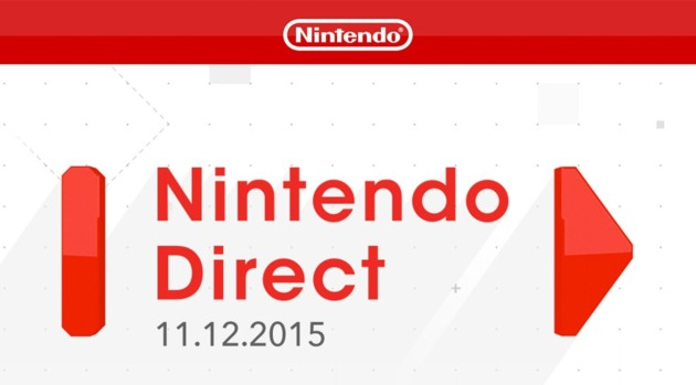 ND: The Next Nintendo Direct Goes Live Thursday November 12th! 630x14