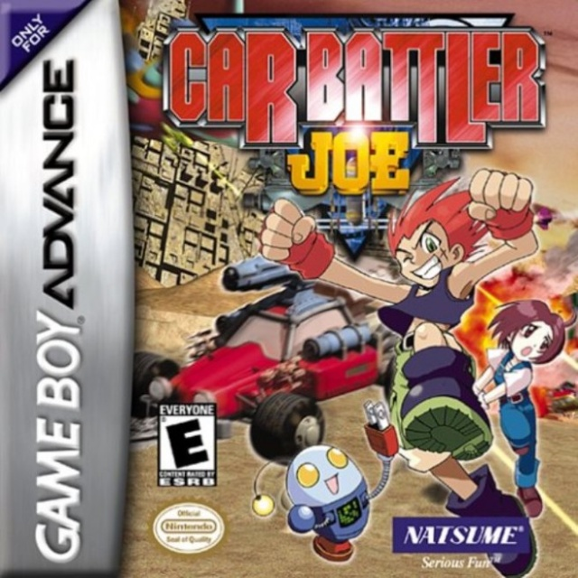 Virtual Console: Car Battler Joe (GBA) Is Hitting The North American Wii U eShop Tomorrow! Car-ba10