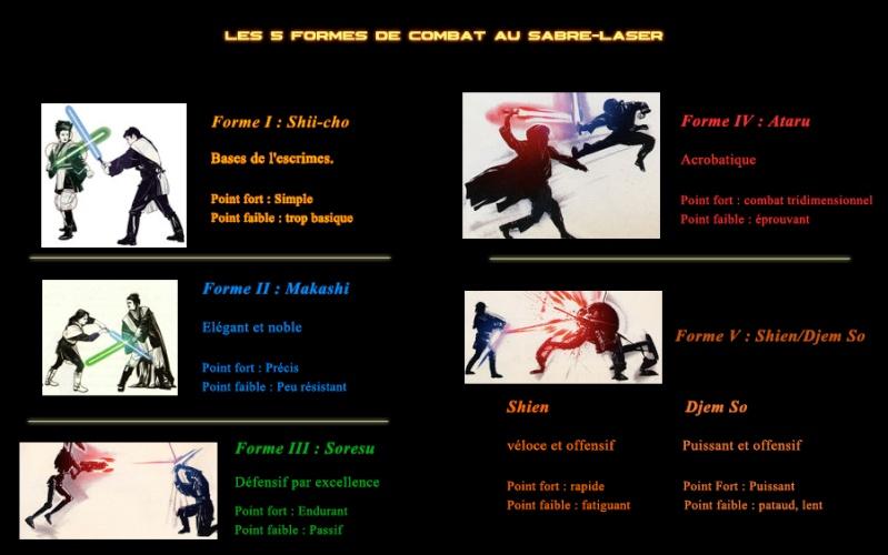 Sabre laser : Les formes de combats Formes10