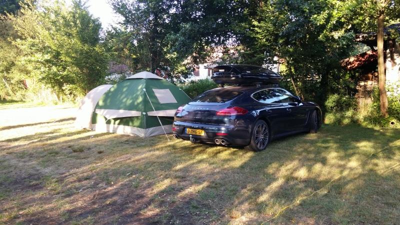 CHAMONIX - tentes vues cette année au camping 06510
