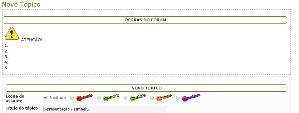 Modificar caixa de regras do fórum das categorias 118