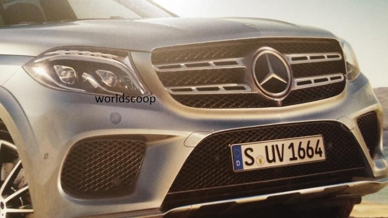 2015 - [Mercedes] GLS (GL Restylé) [X166] - Page 3 2015-111