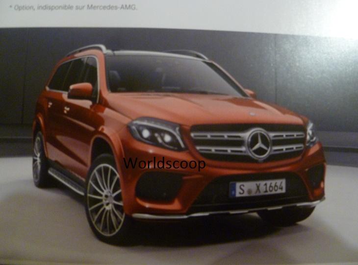 2015 - [Mercedes] GLS (GL Restylé) [X166] - Page 3 P1140733
