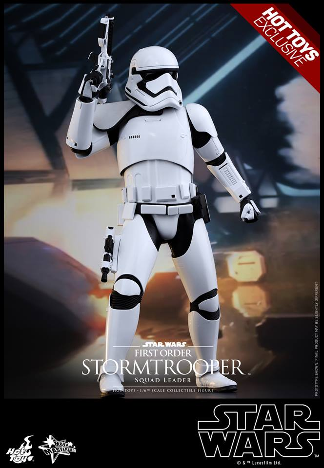 HOT TOYS - SW7: TFA - First Order Stormtrooper Squad Leader 10462610